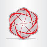 atom energy abstract symbol