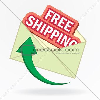 free shipping envelope