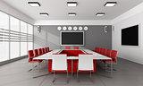 Minimalist  board room