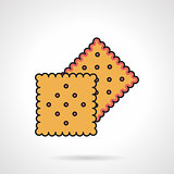 Biscuits flat vector icon