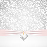 pearl heart pendant