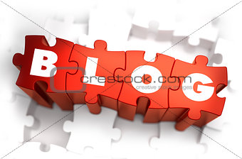 Blog - White Word on Red Puzzles.