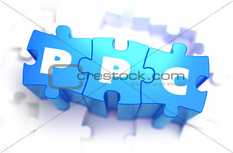 PPC - Text on Blue Puzzles.