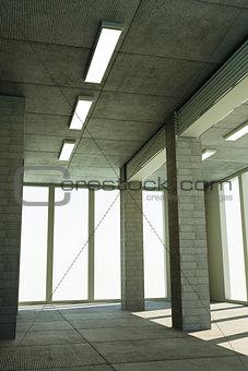 skyscraper interior
