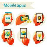 set mobile icons