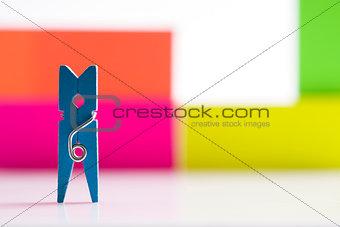 Small clothespin