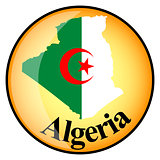 orange button with the image maps of Algeria