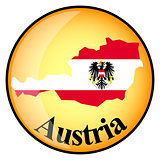 orange button with the image maps of Austria