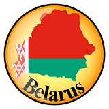 orange button with the image maps of button Belarus