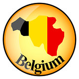 orange button with the image maps of button Belgium