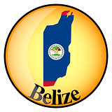 orange button with the image maps of button Belize