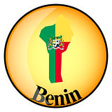 orange button with the image maps of Benin