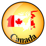 orange button with the image maps of Canada