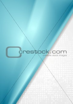 Bright blue grey abstract background
