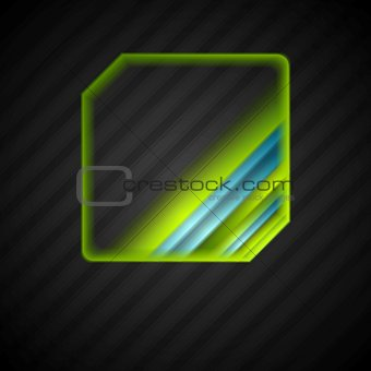 Abstract bright logo design
