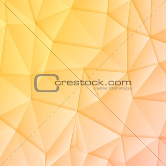 Abstract polygonal vector geometric design