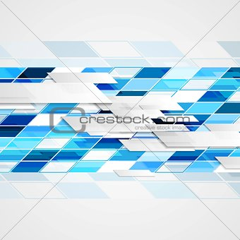 Abstract hi-tech geometric bright background