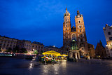 Church of St. Mary in Krakow Main Market Square