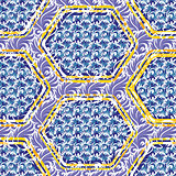 Patterned abstract texture