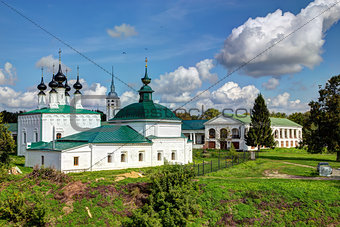 Ancient Russian churches in Suzdal