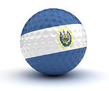 El Salvador Golf Ball
