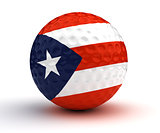 Puerto Rican Golf Ball