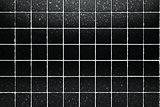 black tiles background