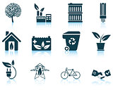 Set of ecological icon