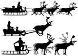 Reindeer sleighs