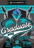 template for the posters to graduate party