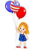 Independence Day girl