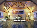 modern attic interior