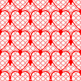 Design seamless red heart background