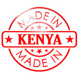 Made in Kenya red seal
