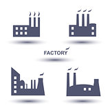 factory icon set