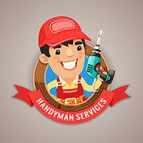 Handyman Services Emblem
