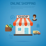 Internet Shopping Poster