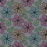 Paisley vector pattern