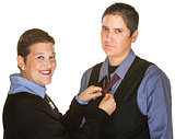Female Fixing Tie For Spouse