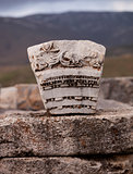 Carved Stone in Turkey