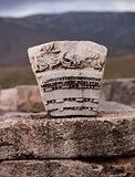 Carved Stone in Turkey