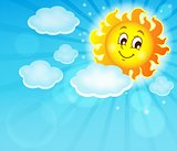 Image with happy sun theme 6