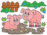 Pig theme image 5