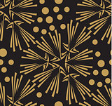 vector seamless pattern. stylish texture. endless abstract background