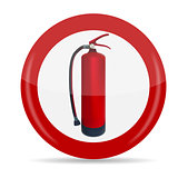 Fire Extinguisher Sign Vector Illustration