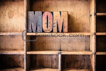 Mom Concept Wooden Letterpress Theme