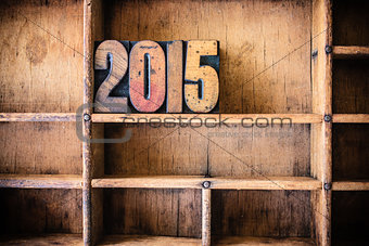 2015 Concept Wooden Letterpress Theme