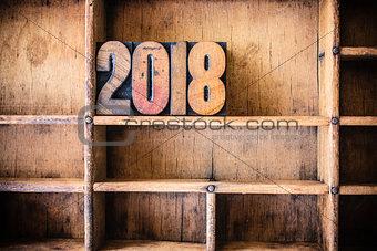 2018 Concept Wooden Letterpress Theme