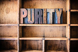Purity Concept Wooden Letterpress Theme