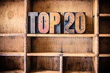Top 20 Concept Wooden Letterpress Theme